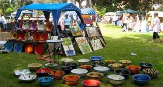 Pottery Market in the Park